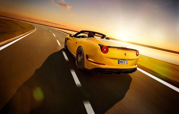 Картинка Ferrari, феррари, калифорния, Novitec Rosso, Pininfarina, 2015, California T