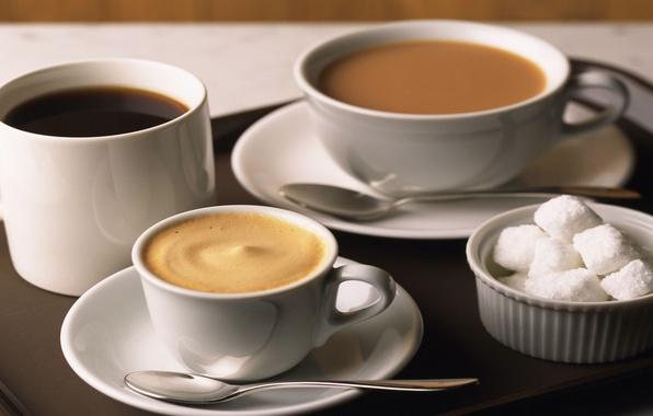 Картинка стол, фон, чай, кофе, еда, шоколад, жидкость, тарелка, ложка, кружка, чашка, сахар, напиток, капучино, пить, …