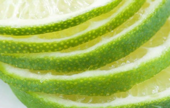 Картинка макро, фрукт, лайм, цитрус, 1920x1200, macro, fruit, lime, citrus