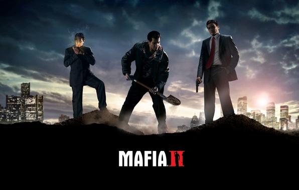 Картинка игры, wallpers, Mafia 2