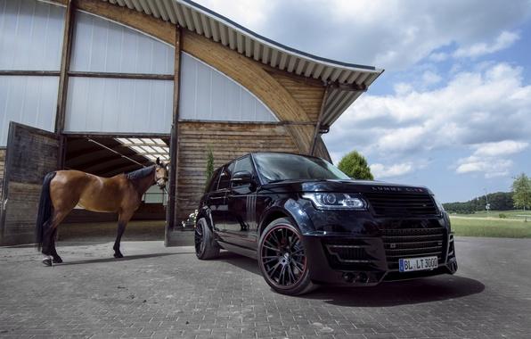 Картинка Land Rover, Range Rover, Tuning, 2014, Lumma Design