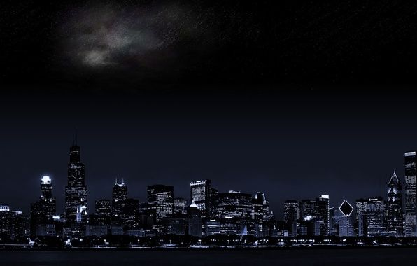 Картинка city, the, Nigh