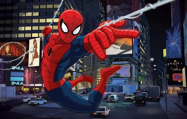 Картинка фильм, питер, человек паук, spider man, film, the amazing spider man, ultimate spider man, parker, …