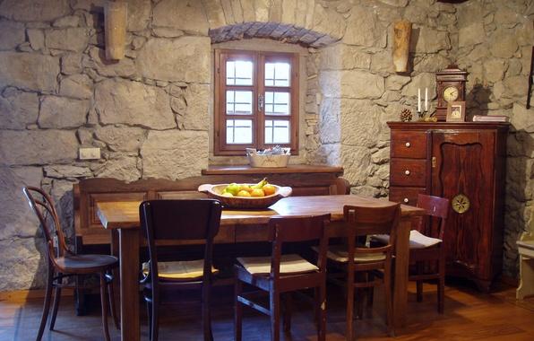 Картинка дизайн, дом, комната, интерьер, столовая, средиземноморский стиль