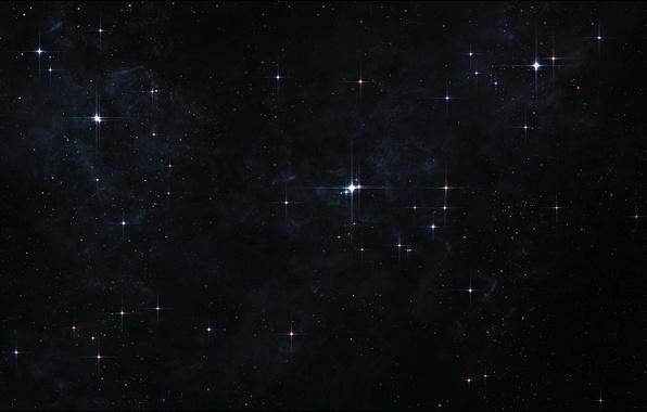 Картинка звезды, вселенная, universe, stars, бесконечность, deep space