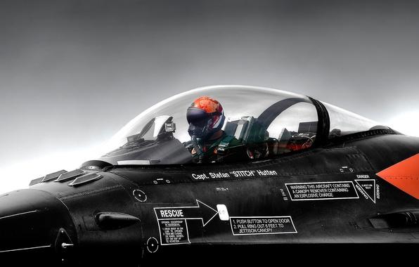 Картинка шлем, кабина, пилот, самолёт