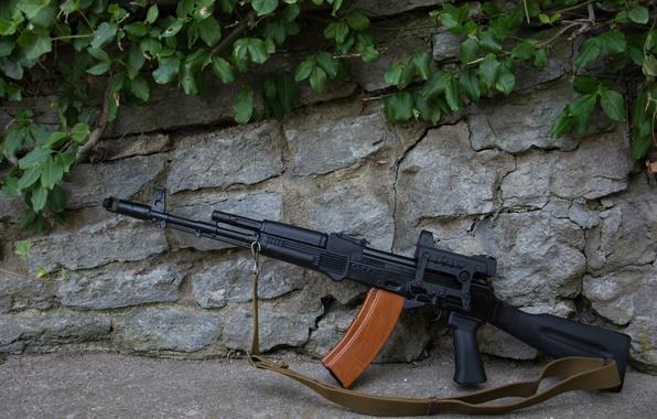 Картинка оружие, ружьё, карабин, Сайга, самозарядное