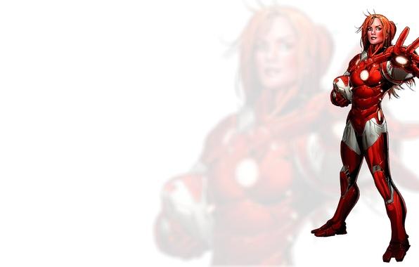 Картинка girl, Iron Man, Comics, redheads