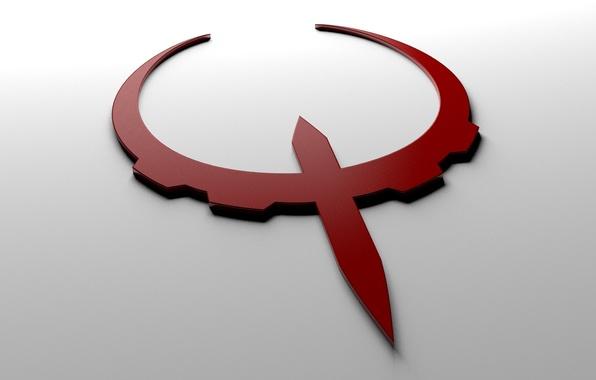 Картинка игра, логотип, logo, квейк, quake