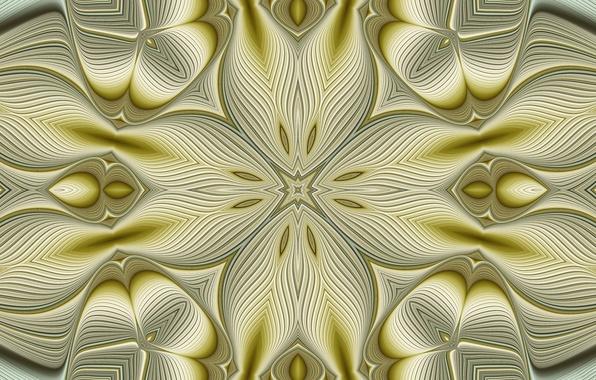 Картинка свет, узор, цвет, объем, симметрия