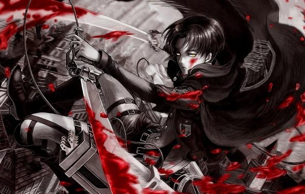 Скачать аниме картинки атака титанов 6