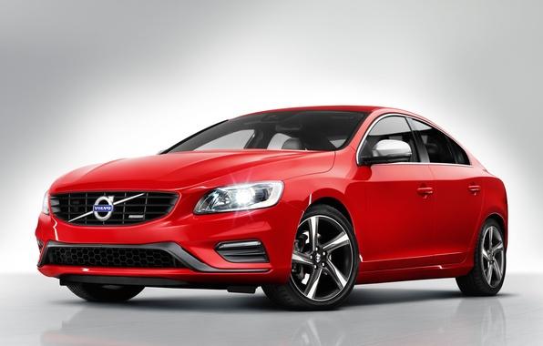 Картинка авто, обои, Volvo, передок, S60, R-design