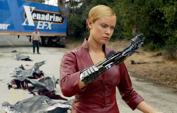 Картинка терминатор, Kristanna Loken, Терминатор 3: Восстание машин, Terminator 3: Rise of the Machines, Кристанна Локен
