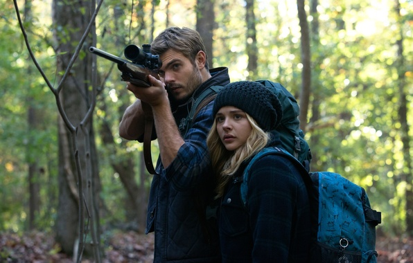 Фото обои 5-ая волна, The 5th Wave, 2016, Alex Roe, Chloë Grace Moretz