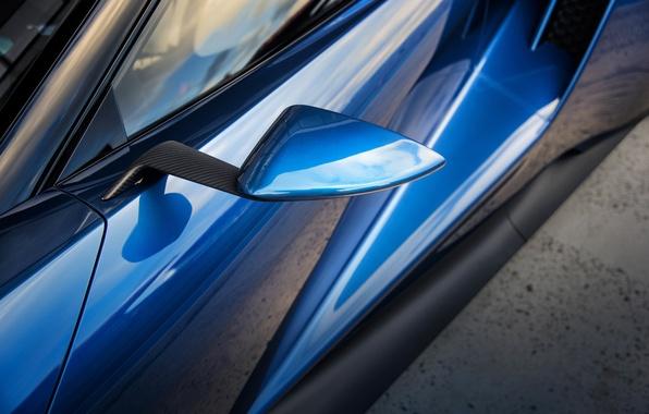 Картинка car, авто, Ford, зеркало, карбон, carbon, macro