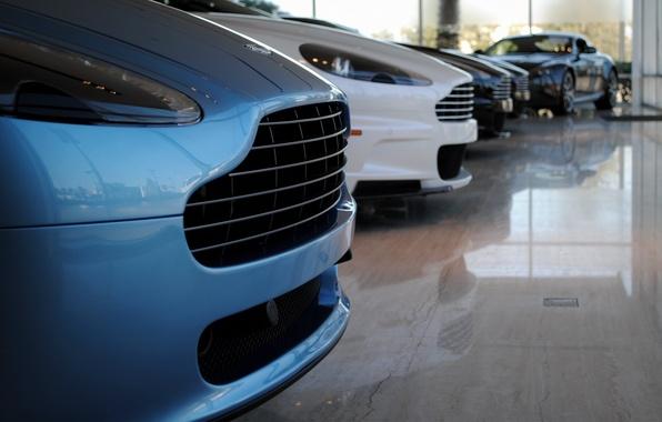 Картинка Aston Martin, суперкар, Line-Up