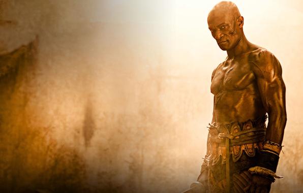 Картинка гладиатор, сериал спартак, spartacus, песок и кровь