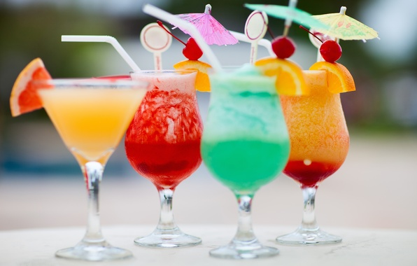 Картинка пляж, коктейль, ice, summer, напиток, фрукты, beach, fresh, sand, fruit, drink, cocktail, cold, tropical