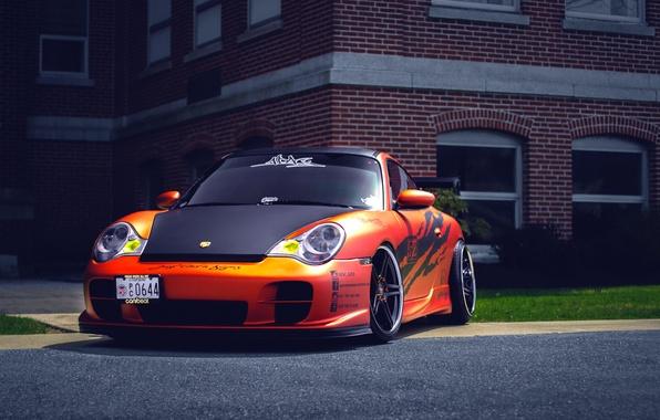 Картинка Porsche, порше, GT3, 991, frontside