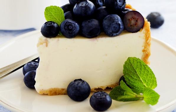 Картинка ягоды, сладость, черника, пирог, cake, выпечка, berries, blueberries, pastries, sweetness