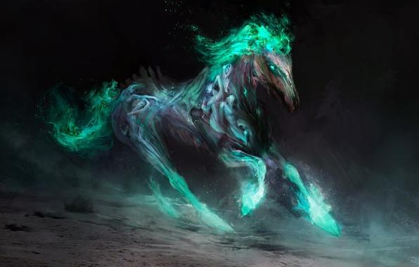 Картинка смерть, конь, арт, Thedurrrrian