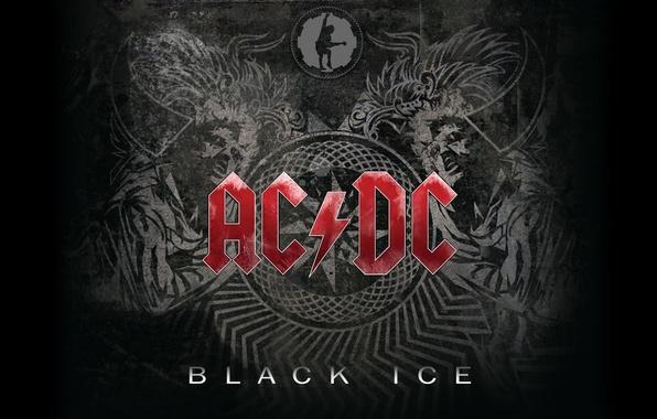 Фото обои AC/DC, Rock'n'Roll, Hard Rock, Blues Rock, Music, Wallpaper, Black Ice