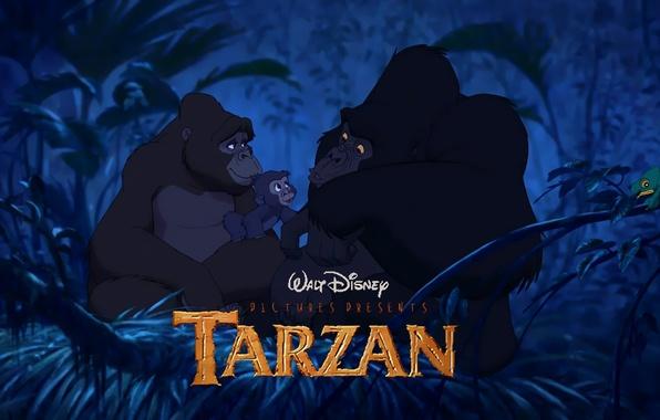 Тарзан мультфильм дисней гориллы