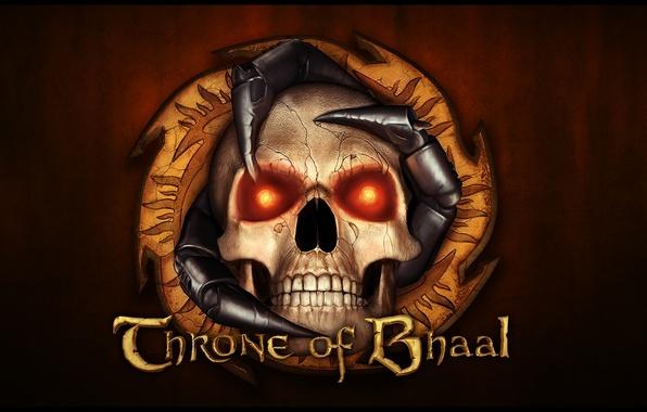 Картинка skull, eyes, Throne of Bhaal