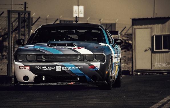 Картинка drift, Dodge Challenger, muscle car, srt8, detroit, drifting, carshow
