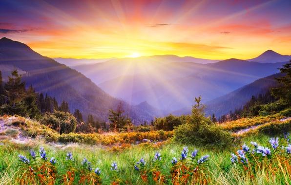 Картинки фото природы горные пейзажи