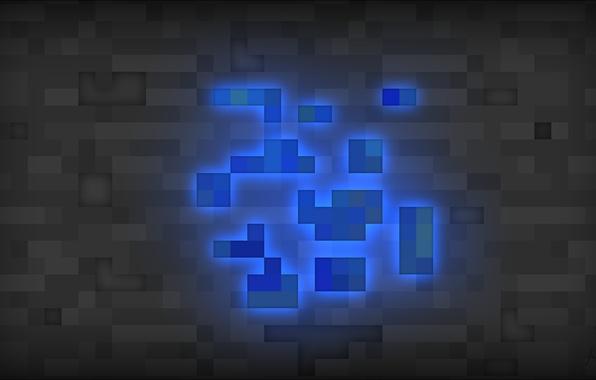 Картинка minecraft, лазурит, майнкрафт, lapis lazuli