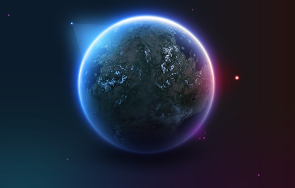 Картинка космос, звезды, world, планета, earth, space, stars