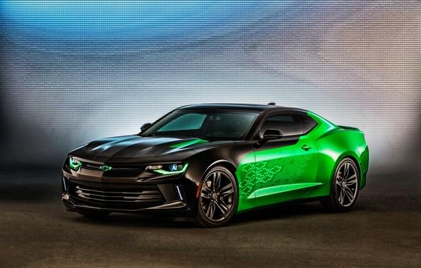 Картинка Concept, Chevrolet, Camaro, шевроле, камаро
