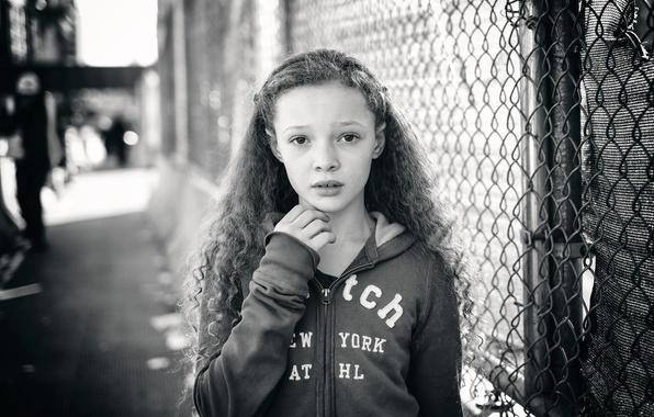 Картинка модель, девочка, кудряшки, Berkeley Clayborne
