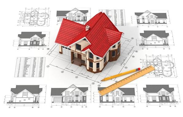 Картинка дома, план, эскиз, карандаш, архитектура, макет, чертежи, проект, линейка, architecture, wallpaper., engineering, инженерия, строительства, смета, ...