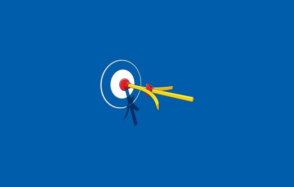Картинка игра, стрела, мишень, точность, присоска