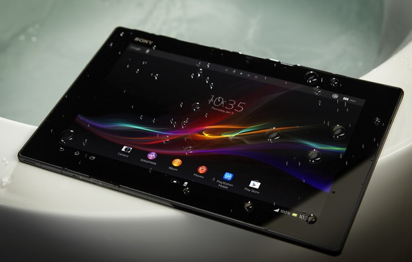 Картинка планшет, sony, xperia, tablet