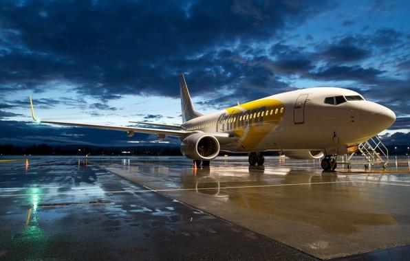 Фото обои авиация, самолёт, Boeing 737