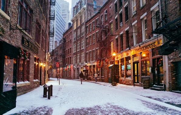 Обои картинки фото new york new york city manhattan