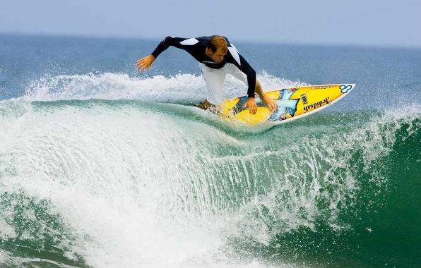 Картинка море, волны, лето, вода, океан, спорт, sport, summer, sea, ocean, water, сёрфинг, man, boy, surfing