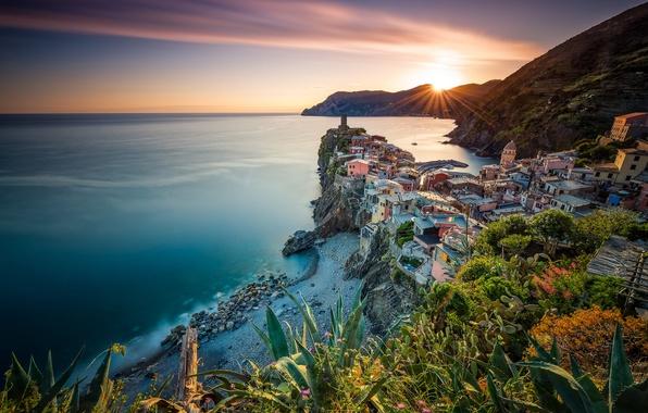Обои море Италия Базиликата картинки на рабочий стол