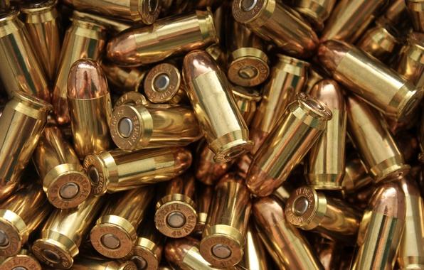 Картинка макро, оружие, пули, патроны