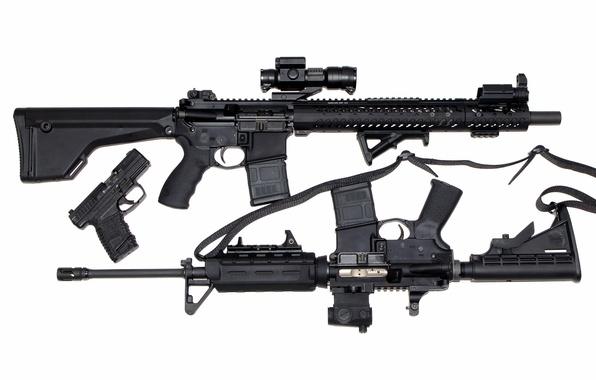 Штурмовые винтовки пистолет оружие