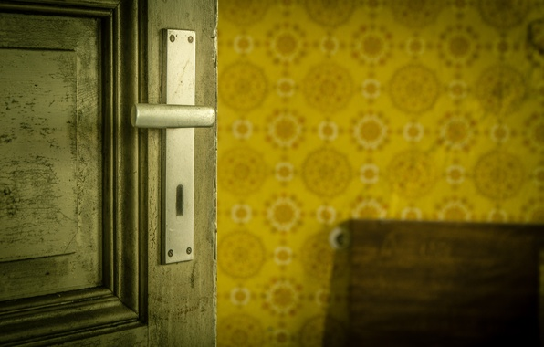 Картинка замок, комната, дверь
