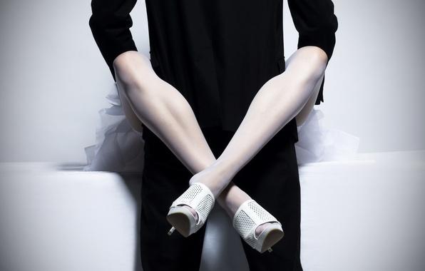 Картинка ноги, женщина, чулки, костюм, мужчина, связь, woman, man