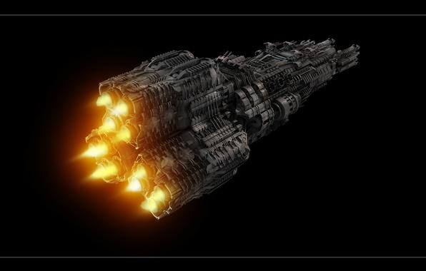 Картинка space, cosmos, ship
