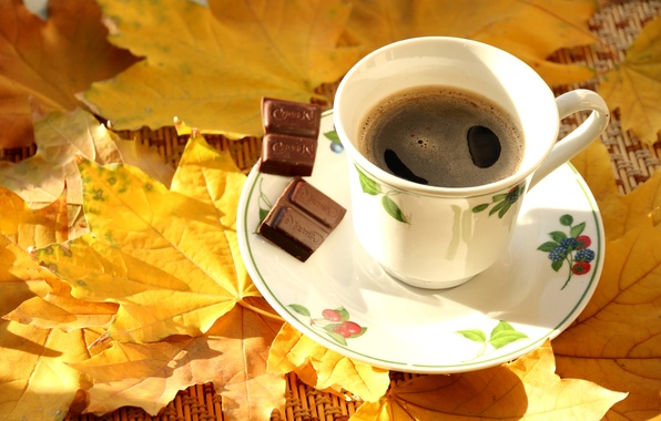 Осень плед кофе картинки