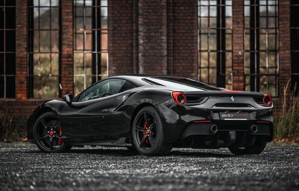 Картинка Ferrari, суперкар, феррари, GTB, 488