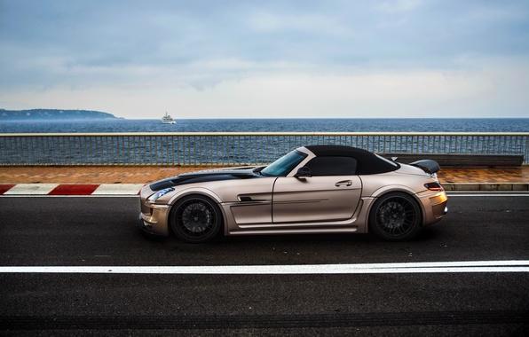 Картинка car, Roadster, Hamann, Mercedes Benz, AMG, SLS, tuning