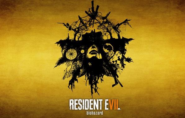 Картинка wallpaper, girl, horror, zombie, game, ghost, woman, Microsoft Windows, Resident Evil, survivor horror, face, death, …
